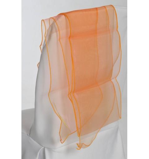Ceinturage en Organza Tangerine