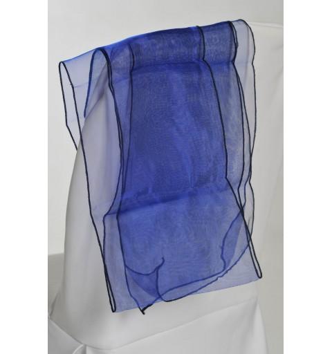 Ceinturage en Organza Bleu Nuit