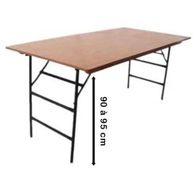 Table Pliante Hauteur 90 Cm