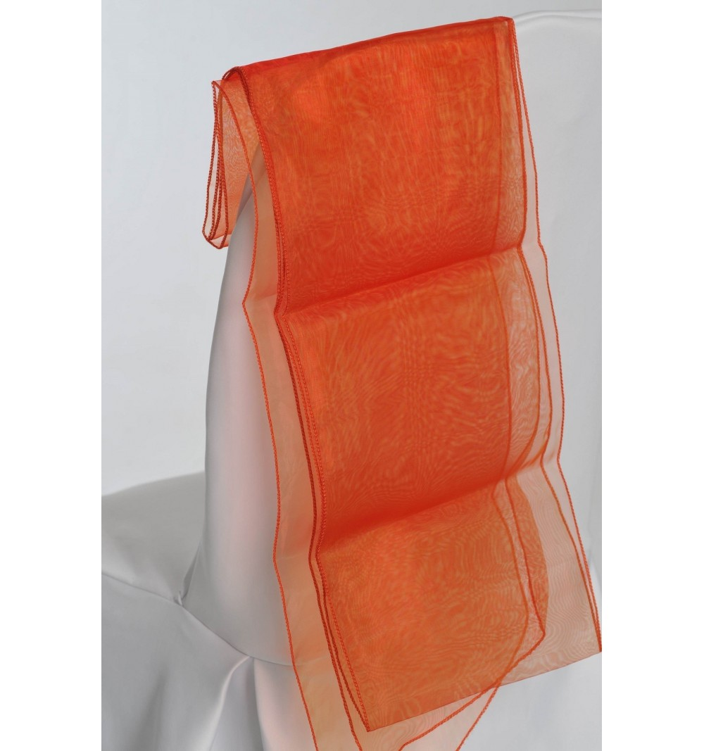 Ceinturage en Organza Orange