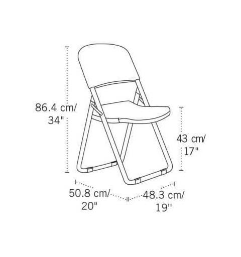 Chaise pliante spéciale pelouse