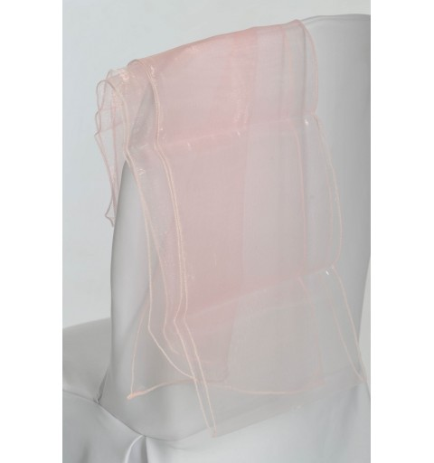 Ceinturage en Organza Rose Pale