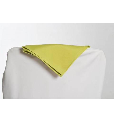 Serviette vert anis 100% polyester