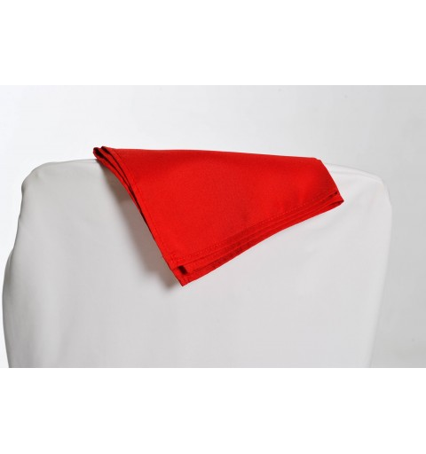 Serviette rouge 100% polyester