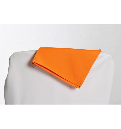 Serviette orange 100% polyester