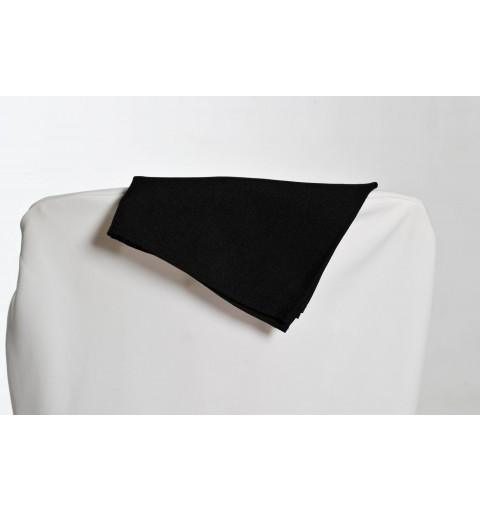 Serviette noire 100% polyester