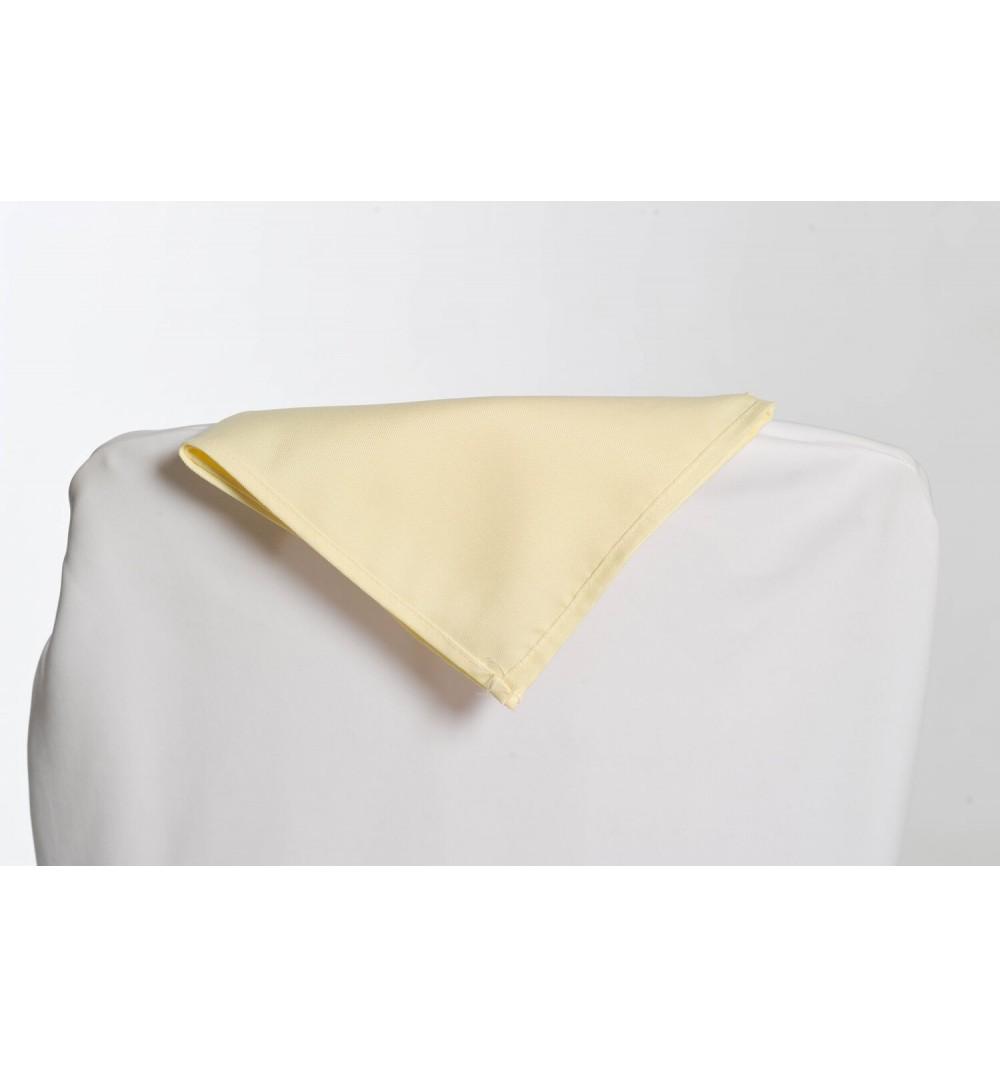 Serviette ivoire 100% polyester