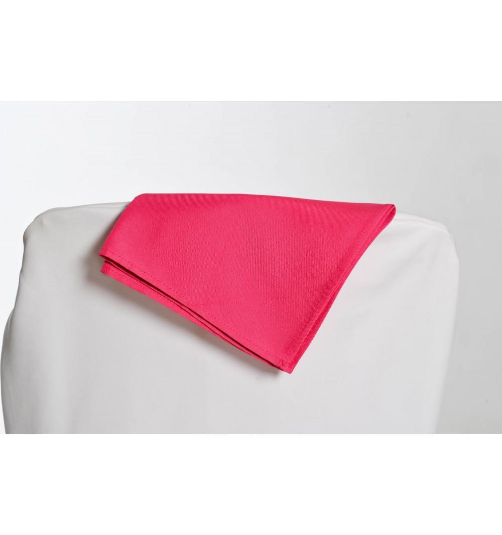 Serviette fushia 100% polyester