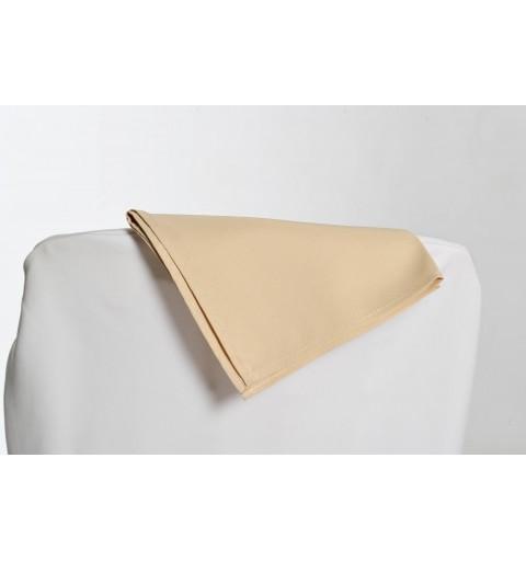 Serviette beige 100% polyester