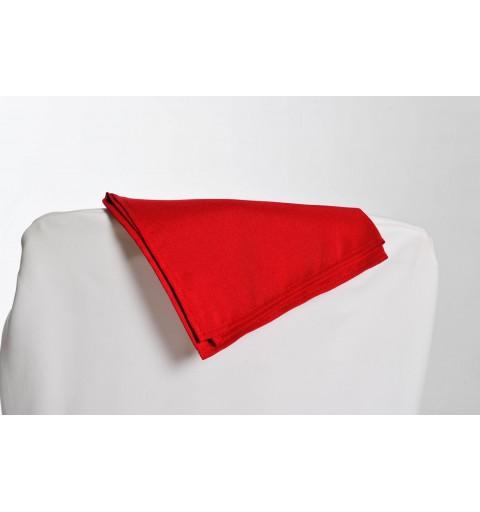 Serviette rouge foncé 100% polyester