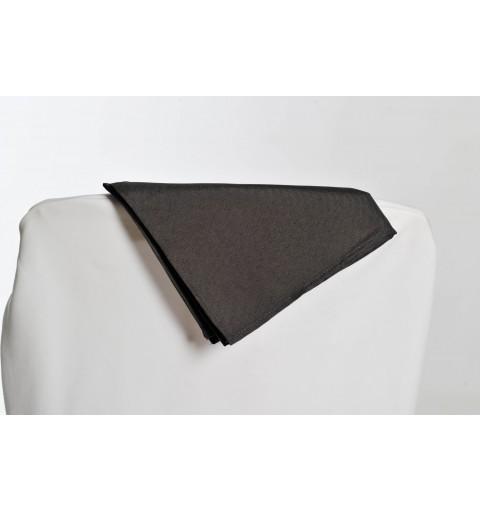 Serviette grise 100% polyester