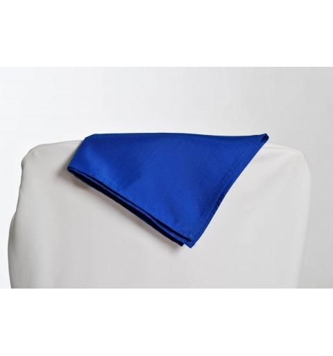 Serviette bleu marine 100% polyester
