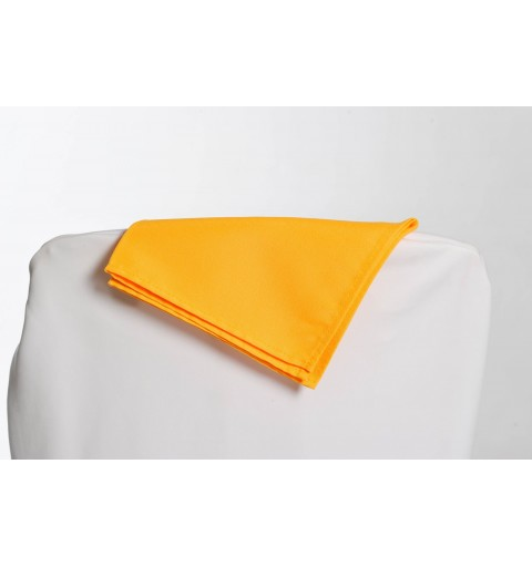 Serviette jaune 100% polyester