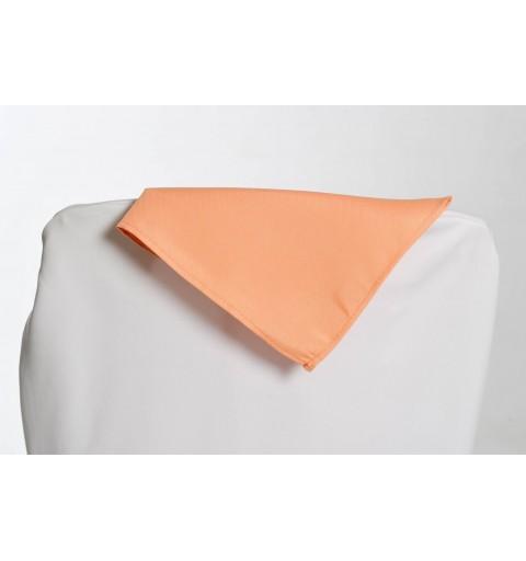 Serviette saumon 100% polyester