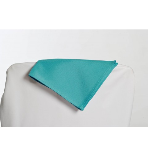 Serviette bleu turquoise 100% polyester