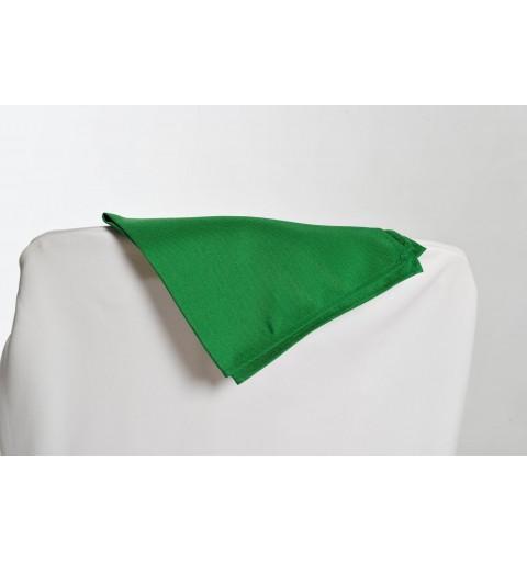 Serviette vert gazon 100% polyester