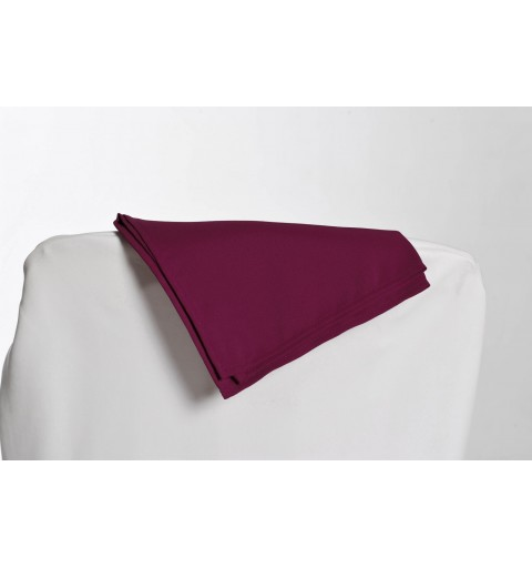 Serviette bordeaux 100% polyester