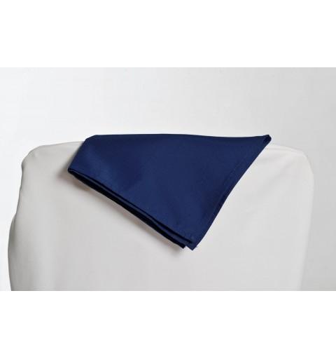Serviette bleu nuit 100% polyester