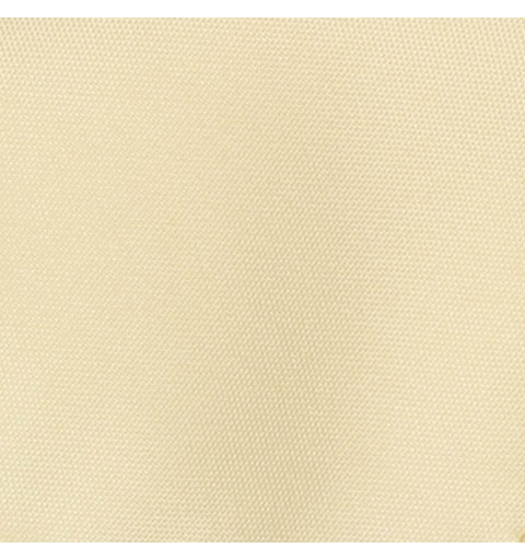 Nappe rectangulaire ivoire 100% polyester