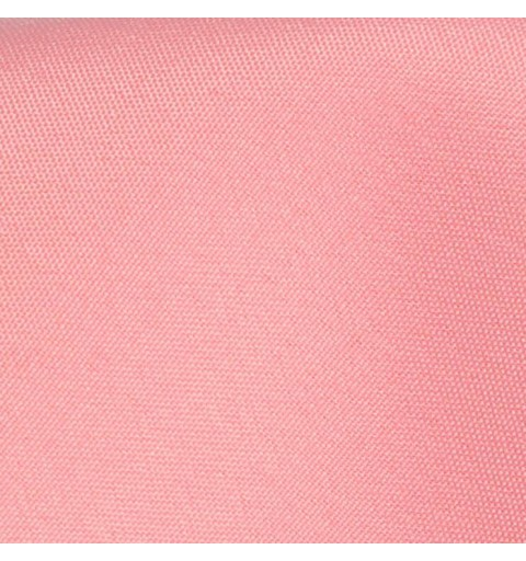 Nappe rectangulaire rose pale 100% polyester
