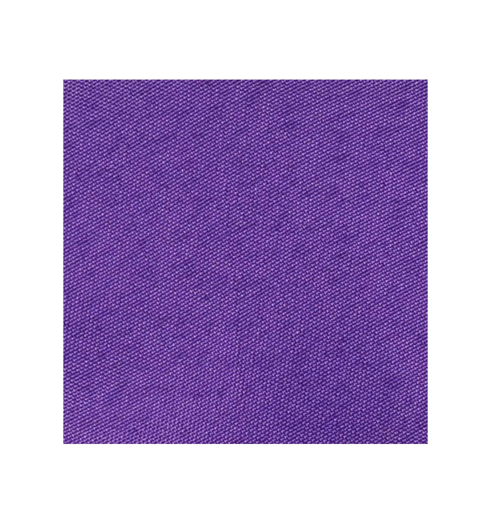 Nappe rectangulaire violine 100% polyester