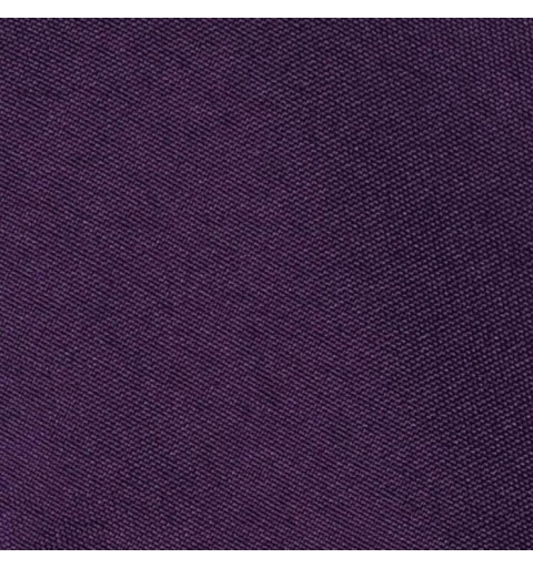 Nappe rectangulaire prune 100% polyester
