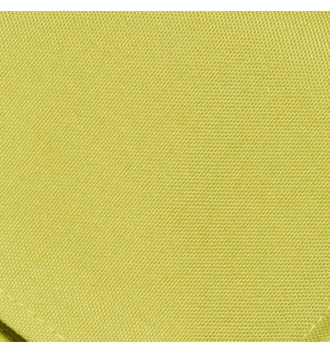 Nappe rectangulaire vert anis 100% polyester
