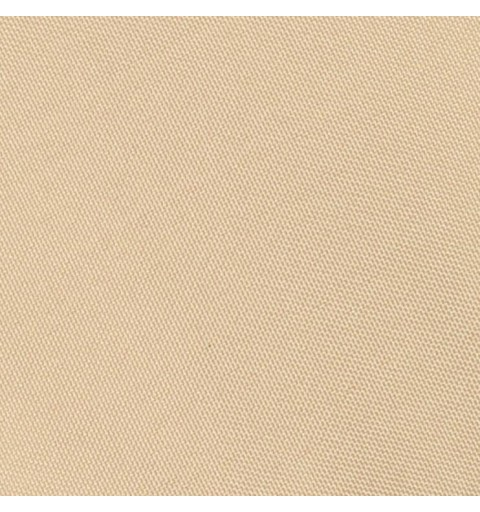 Nappe rectangulaire beige 100% polyester
