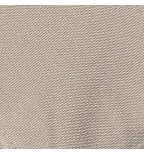 Nappe rectangulaire gris argent 100% polyester
