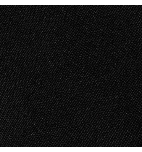Nappe rectangulaire noire 100% polyester