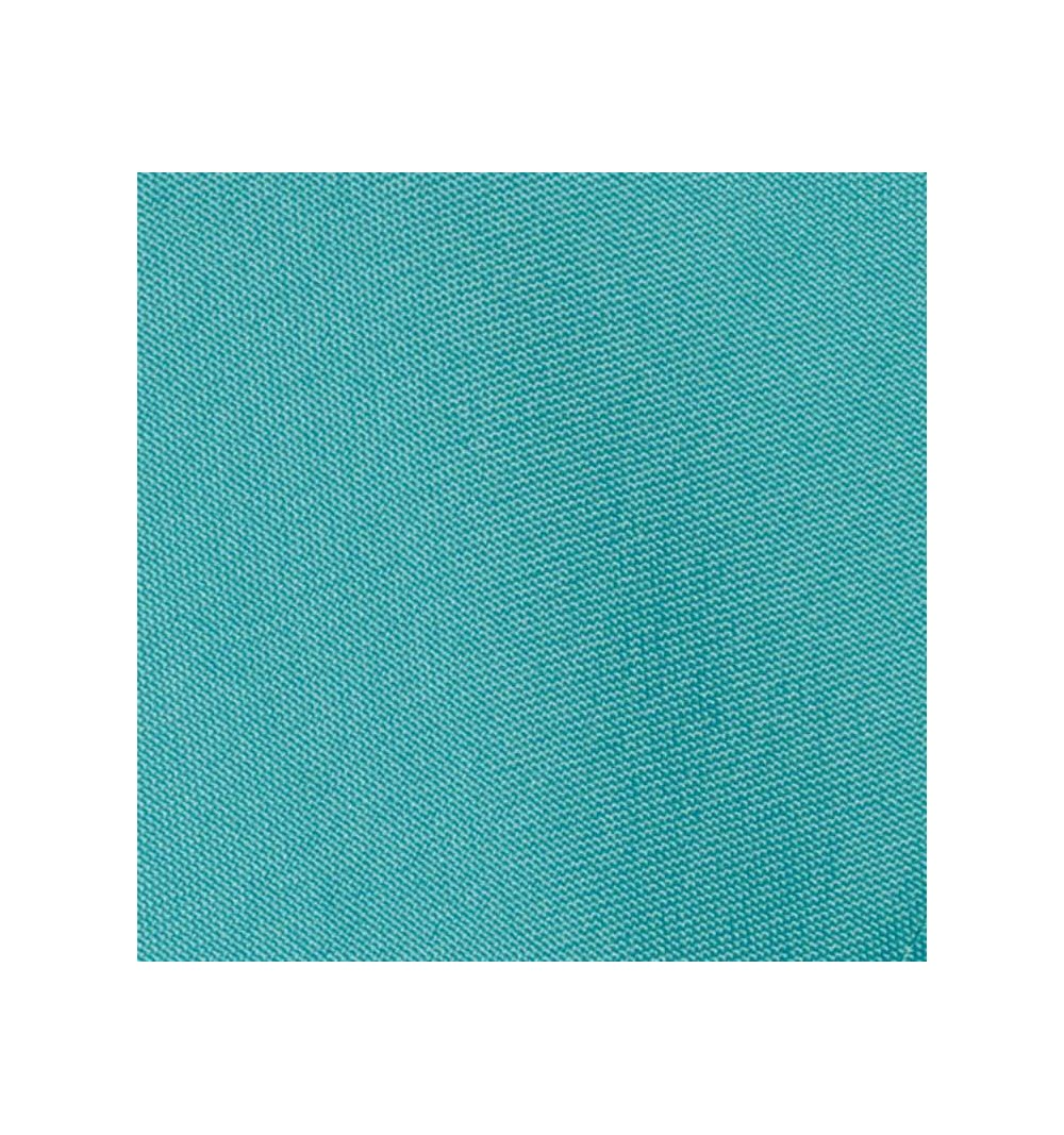 Nappe rectangulaire bleu turquoise 100% polyester