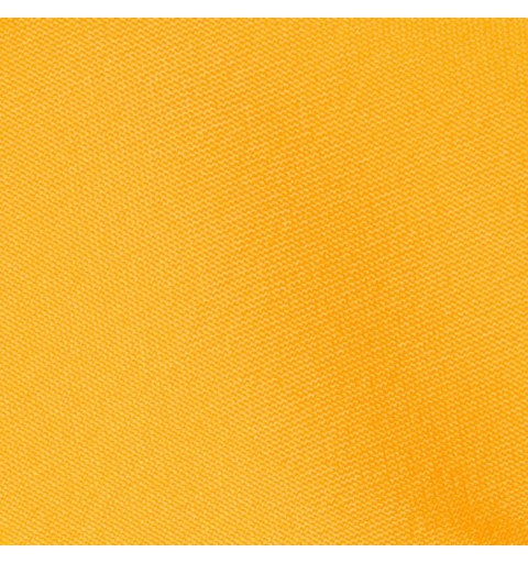 Nappe rectangulaire jaune 100% polyester