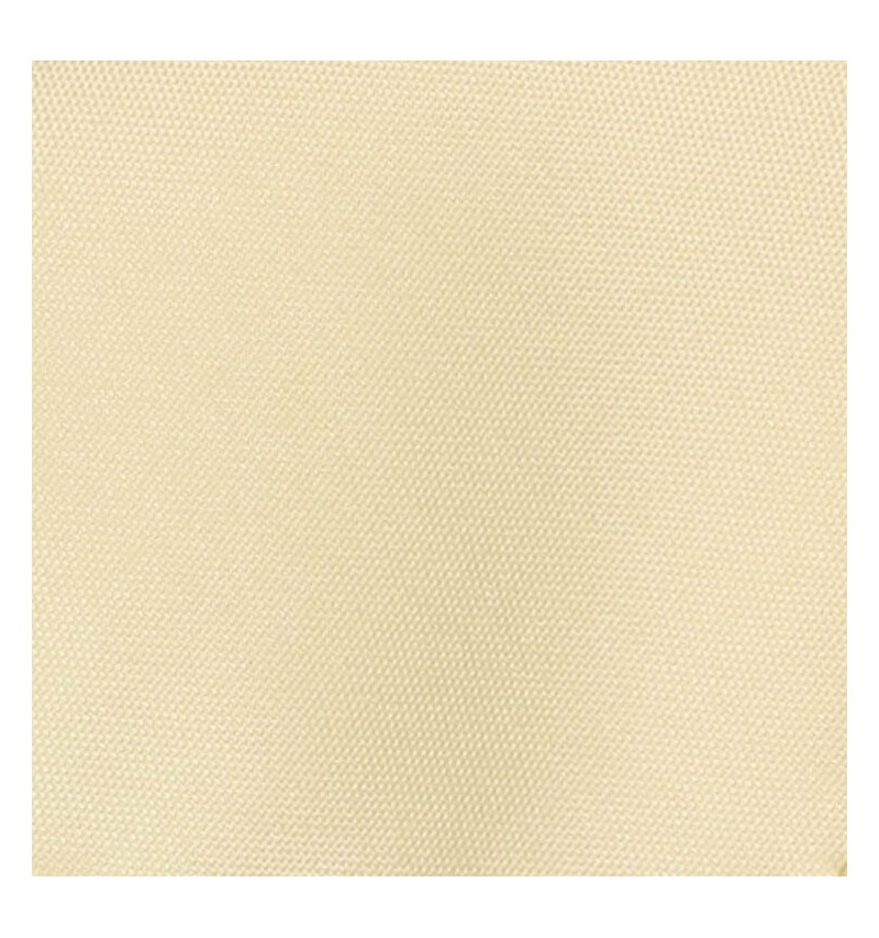 Nappe ronde  ivoire 100% polyester