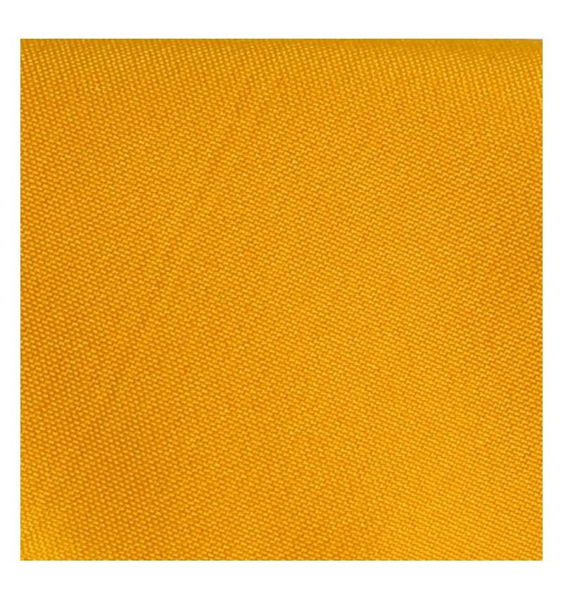 Nappe ronde jaune or 100% polyester