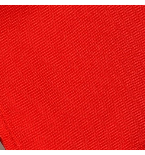 Nappe ronde rouge vif 100% polyester