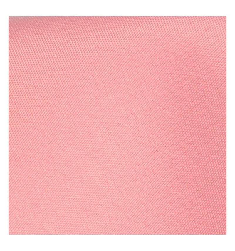 Nappe ronde rose pale 100% polyester
