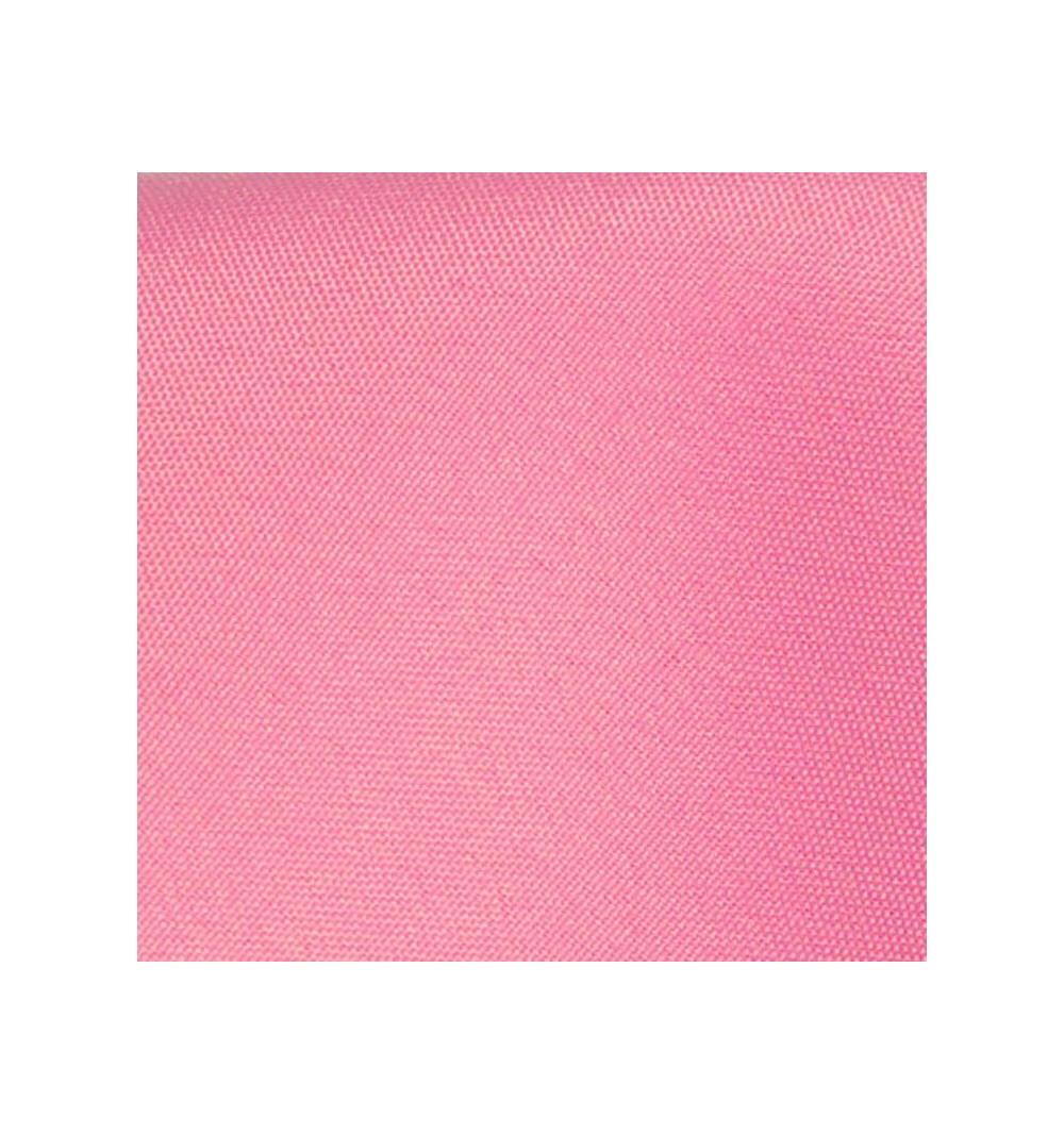 Nappe ronde rose bonbon 100% polyester