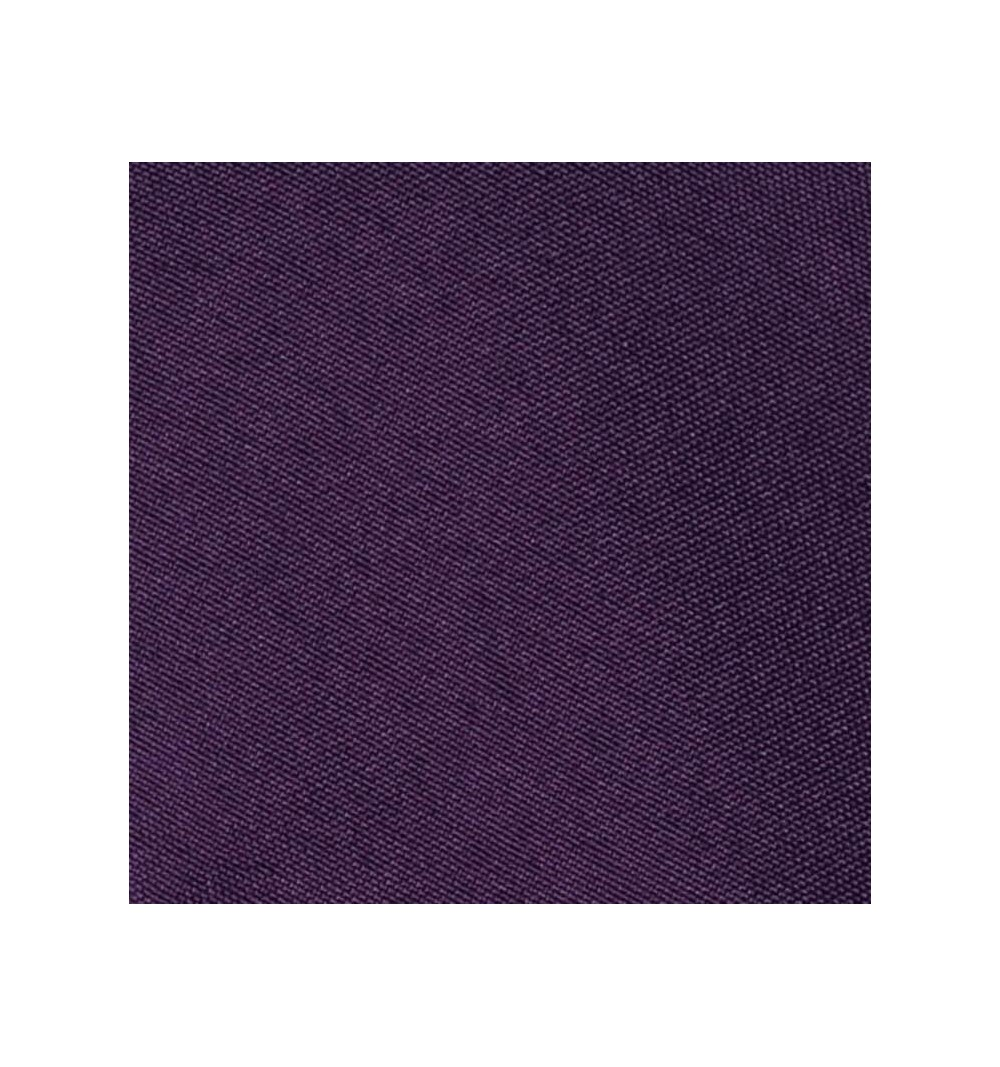 Nappe ronde prune 100% polyester