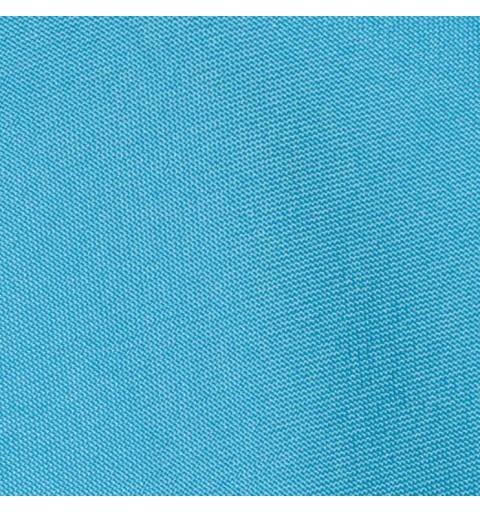 Nappe ronde bleu ciel  100% polyester