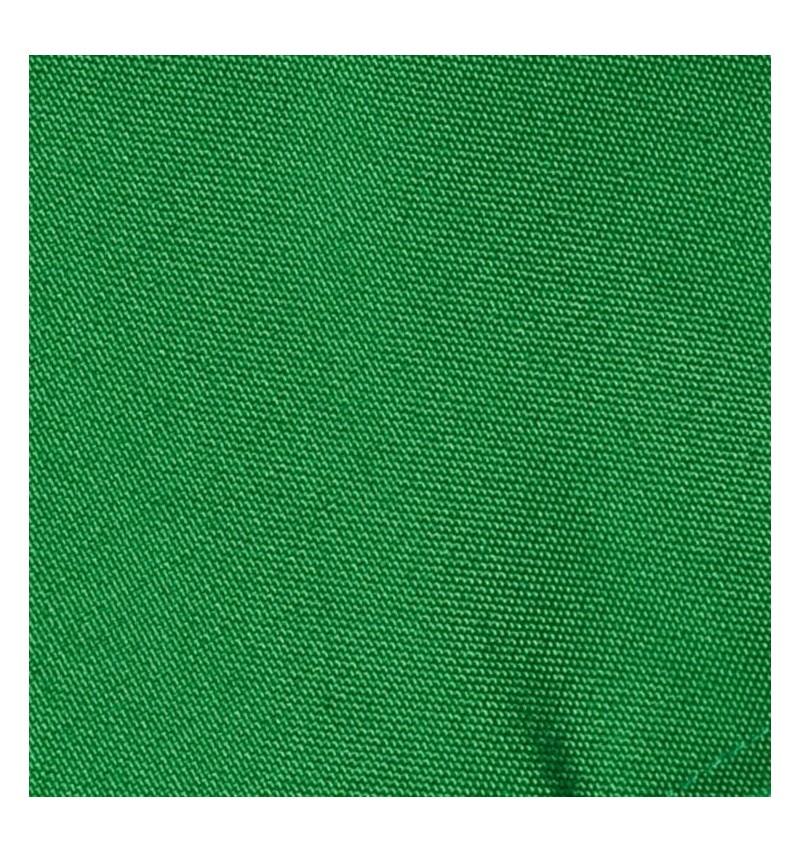 Nappe ronde vert gazon 100% polyester