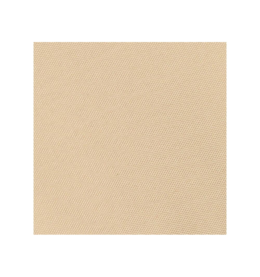 Nappe ronde beige100% polyester