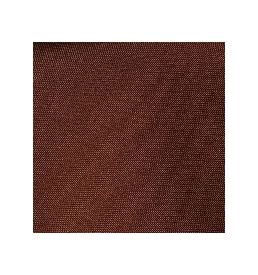 Nappe ronde chocolat 100% polyester