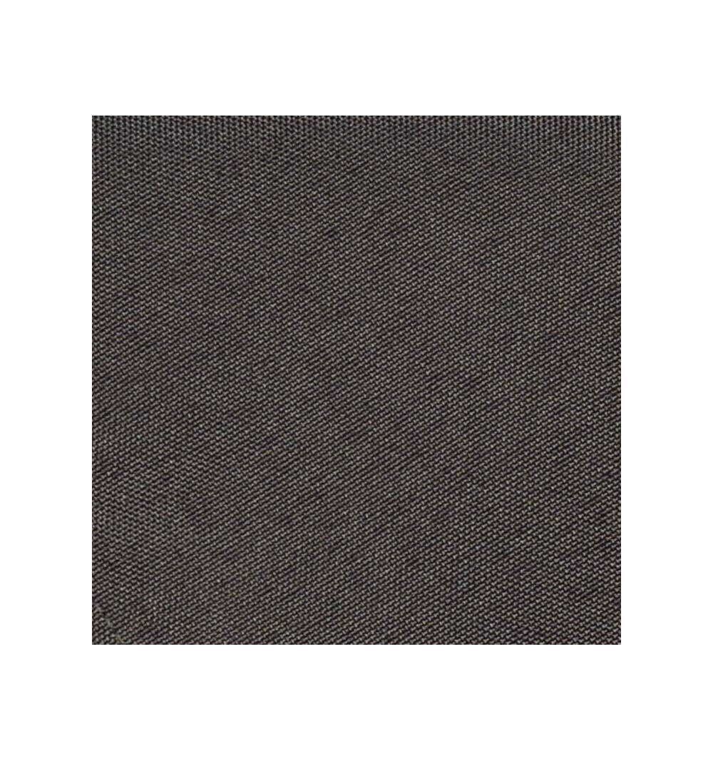 Nappe ronde gris fer 100% polyester