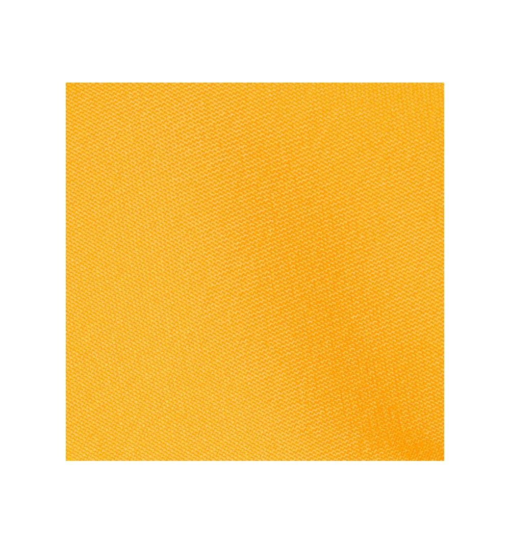 Nappe ronde jaune 100% polyester