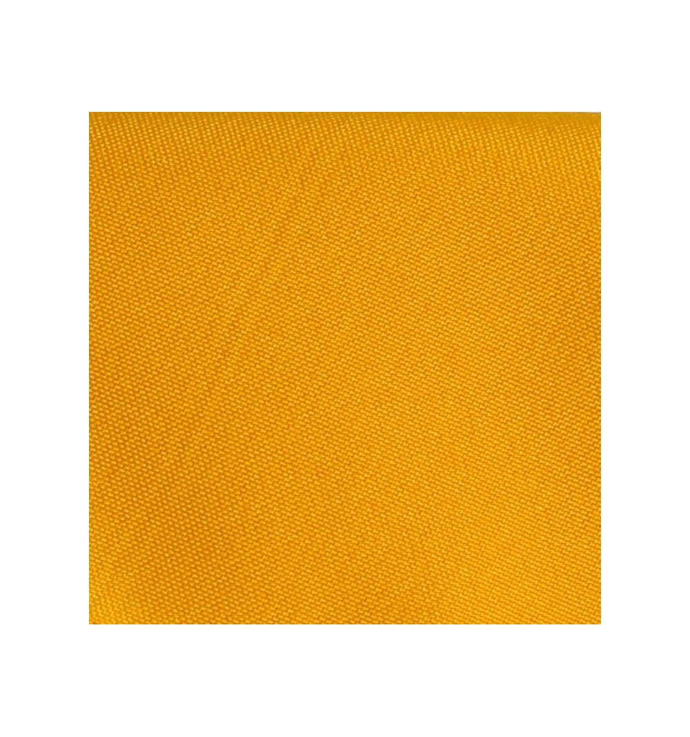 Nappe carrée jaune or 100% polyester