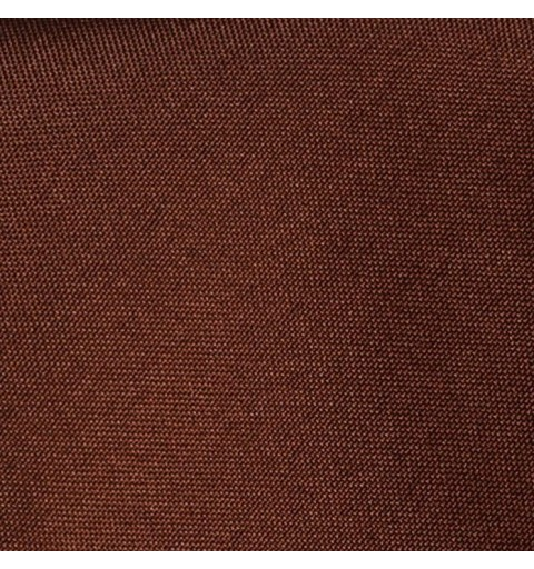 Nappe carrée chocolat 100% polyester