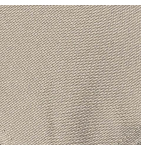 Nappe carrée gris argent 100% polyester