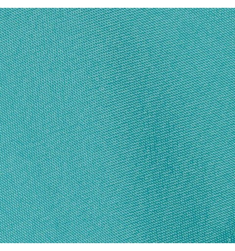 Nappe carrée bleu turqoise 100% polyester