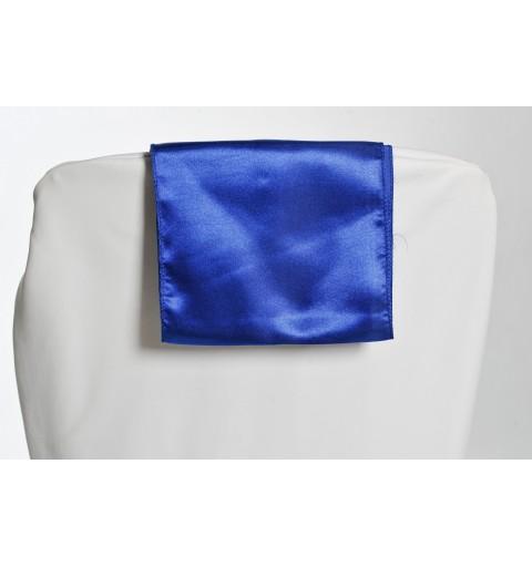Ceinturage en Satin Bleu Marine