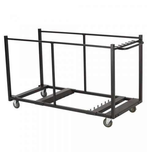 Chariot de transport pour tables lourdes